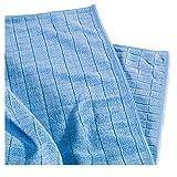 Reinigungsladen Mikrofaser Universal- und Bodentuch 50x60cm Microfaser Tuch Universaltuch Reinigungstuch KFZ-Pflege Blau