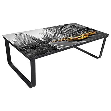VidaXL Couchtisch Beistelltisch Sofatisch Wohnzimmertisch Glastisch Loungetisch Palette Amazonde Kche Haushalt