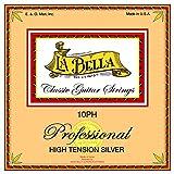 Labella L10PH Jeu de Cordes en nylon pour Guitare Classique Hard Tension