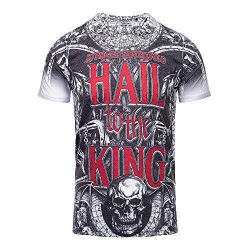 T Shirt Chalice Avenged Sevenfold (Grigio) - Medium