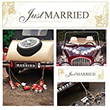 2 Hochzeits - Autokennzeichen als Deko für das Brautauto (just married - always together)