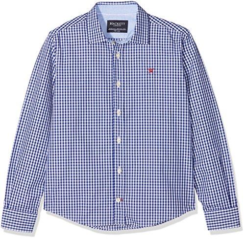 Hackett Gingham Check B, Blusa Para Niños, Multicolor (Blue/White 5ar), Talla Única (Talla del Fabricante: K07) Hackett London