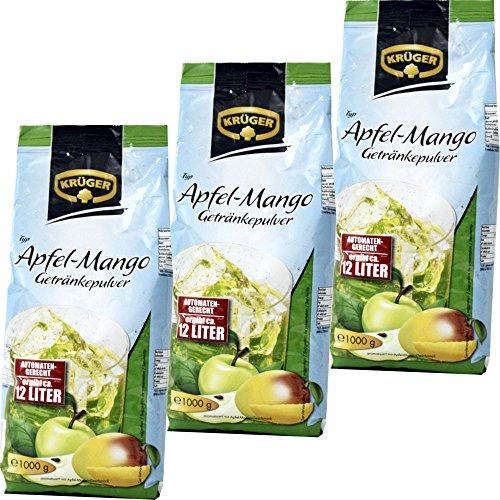 Krüger - Getränkepulver \'Apfel-Mango\' - 3 x 1KG