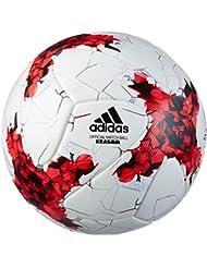 Coupe Confédérations - Ballon Officiel de Match de Foot - Blanc/Rouge/Gris