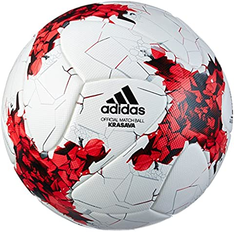adidas Confed Cup Omb Ballon de Football Homme, Blanc, Taille 5