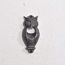 Casa Décor Owl Antique Rustic Cast Iron Bottle Opener