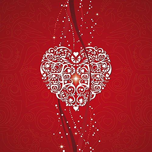 Apple iPhone 4 Housse Étui Silicone Coque Protection Amour Amour C½ur Étui en cuir marron