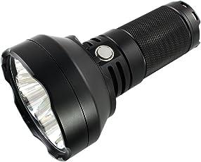 ThruNite® TN40 V2 XP-L HI Wiederaufladbare Suchlampen Mit 6800Mah Batteriepack & 4x CREE XP-L HI LEDs bis zu 4450 Lumen, Die Eine Max. Leuchtweite von is zu 1150 Metern Erreichen, Batterien Sind Enthalten (Kaltweiß)