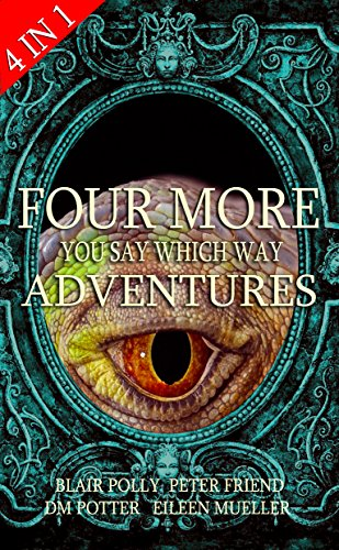 Box Set: Four More You Say Which Way Adventures: Dinosaur Canyon, Deadline Delivery, Dragons Realm, Creepy House (English Edition)