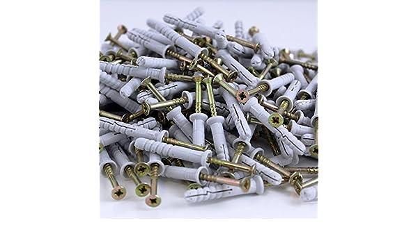 50 Nageldübel Senkkopf Nylon 8 x 160 mm Stück
