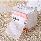 Lameila 100pcs pulizia viso cotone Pads grande morbido cotone tessuti (192x 196mm) per rimozione viso occhio trucco e unghie