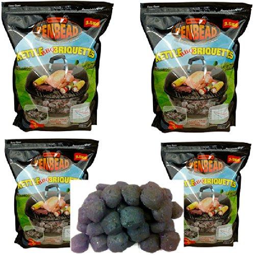4-35kg-bags-penbead-premier-charcoal-briquettes-plus-2-5kgbags-hardwood-lumpwood-charcoal-plus-1-box