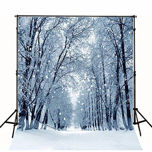 10x Sim2SM3W Frozen Forest Hintergründe für die Fotografie Winter Urlaub Fotografie Hintergrund Tuch Baby Foto Studio Requisiten