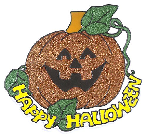 Happy Halloween Pumpkin Window Stickers - Halloween Calabaza Para