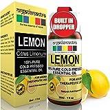 #3: Organix Mantra Lemon Cold Pressed Essential Oil - 30Ml, Pure, Natural, Therapeutic Grade