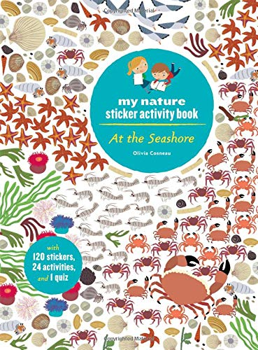 At the Seashore: My Nature Sticker Activity Book -