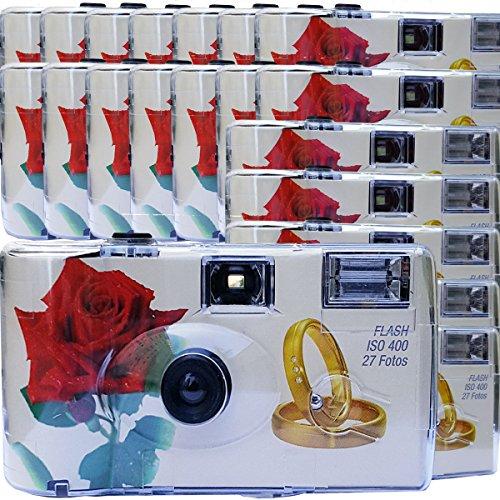 20x PHOTO PORST Hochzeitskamera / Einwegkamera