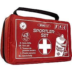 Kit de primeros auxilios para deportes, incluye espray de frío, aplicación en lesiones deportivas de fútbol, atletismo, ciclismo, tenis, deportes de lucha, esquí, gimnasia