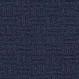 Fabulous Fabrics Strickstoff Iceland 1 – Marineblau — Meterware ab 0,5m — zum Nähen von Pullovern, Schals und Tüchern und Strickjacken