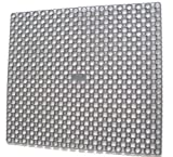 Whitefurze Grey Square Sink Mat Drainer 35 cm x 39 cm by My Bargains Online Shop by Whitefurze
