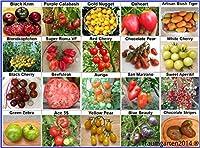 1. Black Krim - Einer der süßesten Tomatensorten der Welt, bis 400g schwer   2. Purple Calabash - Sehr alte Sorte aus dem 16. Jahrhundert, geschmacklich ausgezeichnet, bis 200g   3. Gold Nugget - süßfruchtig und sehr ertragreich,prima im Salat und Fr...