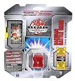 Bakugan Gundalian Invaders - Battle Gear - Pyrus TWIN DESTRUCTOR (Red) [Silver]