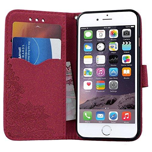 custodia iphone 6 portafoglio silicone