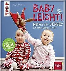 Nähen mit JERSEY - babyleicht!: Nähideen für Babys (Größe 44-98). Inkl. Online-Videos