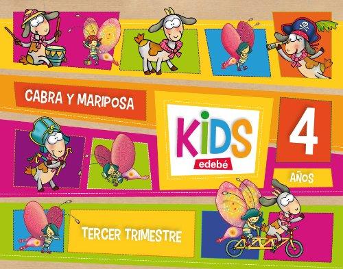KIDS EDEBE 4 AÑOS TERCER TRIMESTRE - 9788468309798