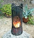 Fire pit ALBERO Fire basket 80002 Fire bowl 60cm iron Fireplace Column