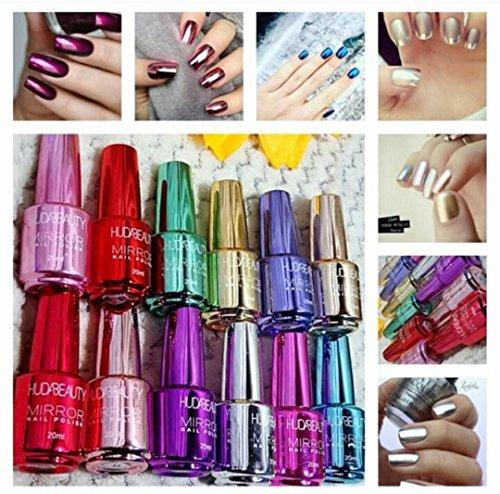 Huda Beauty Mirror Nailpaint set of 12