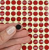Unbekannt Schwarz 3m VHB Acryl Schaumstoff Kreise ~ doppelseitig klebend Punkte Klebeband Pads ~ 10mm Dia X 0,64mm dick, Schwarz