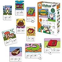 Diset Aprendo 5 años Juguete educativos Las Silabas (68962)