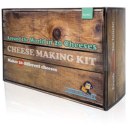 Cheese Making Kit - Around The World in 20 Cheeses