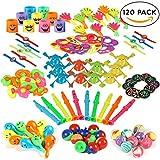 THE TWIDDLERS 120 giocattoli per feste - Ideali per riempire borse regalo, pignatte e per molti altri usi