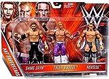 Nxt Super Triple Threat Exclusive Pack - Sami Zayn Neville Tyler Breeze Brand New
