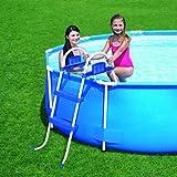 Double échelle up cm. 76 pour piscines