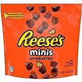 اكواب زبدة الفول السوداني بالشوكولاتة غير المغلفة من ريسيز، 215 غرام