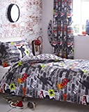Best unknown Skateboards - Single Duvet set & Curtains - Teen bedding Review