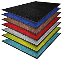 casa pura Dirt Trapper Mats - Absorbent Door Mat | Non-slip & Washable | Super Absorbent Entrance Mat | Suitable for Indoor or Outdoor Use | Grey - 60x90cm