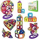 Magnetic Building Blocks Gift Desire Deluxe Kids Magnetics Construction Block Games for Boys