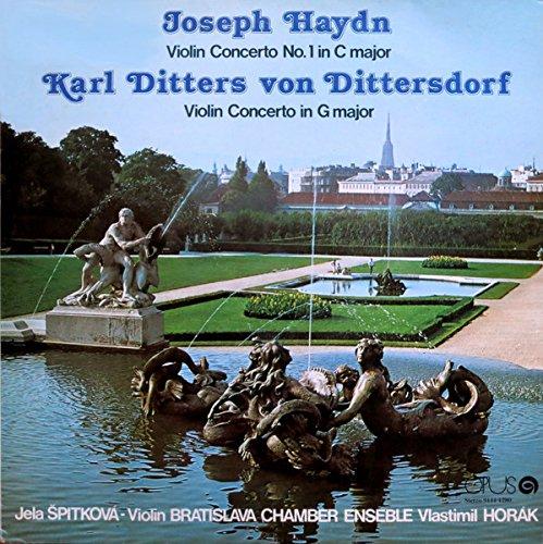 Violin Concerto No. 1 In C Major - Violin Concerto In G Major [Vinyl LP]