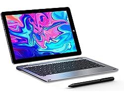 CHUWI Hi10 X Tablet Pc 10.1 Pulgadas Tableta 2 in 1 Windows 10 OS 6GB RAM + 128GB ROM Intel cerelon N4120 Quad-Core hasta 2.6