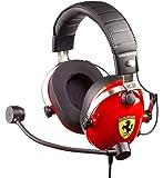 Thrustmaster - T.Racing Scuderia Ferrari Edition - Casque Gaming multiplateforme inspiré par Les réels Paddocks Scuderia Ferrari