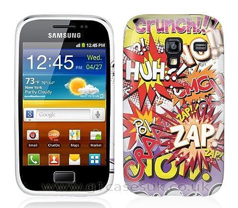 Etui de créateur pour Samsung Galaxy Ace 2 i8160 - Etui / Coque / Housse de protection en TPU/gel/silicone avec motif bande dessinée