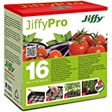 Jiffy 5326 - Pastillas de turba prensada para invernaderos