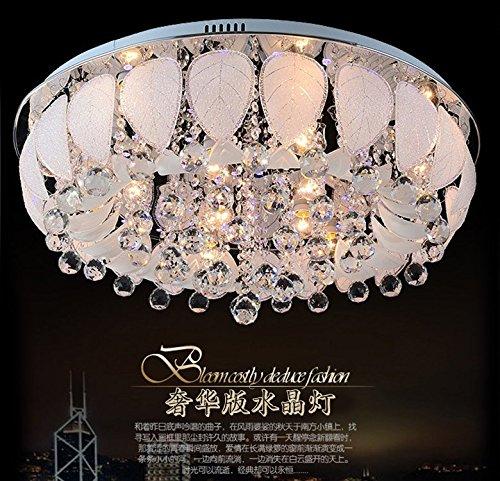 Spannung Feld (SSBY Die moderne, minimalistische Wohnzimmer zu niedrige Spannung Crystal Light runde Deckenleuchte 45cm)