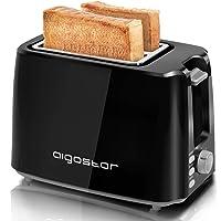 Aigostar Warrior 30JRL – Grille-pain 2 fentes extra-larges et 7 niveaux de brunissage. Fonctions toaster, décongeler…