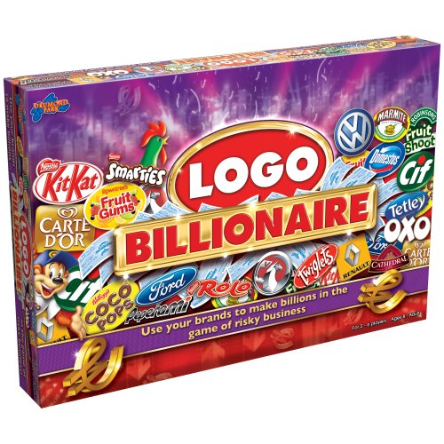 Logo Billionaire Game – Jeu du Logo Milliardaire Version Anglaise (Import Royaume-Uni)