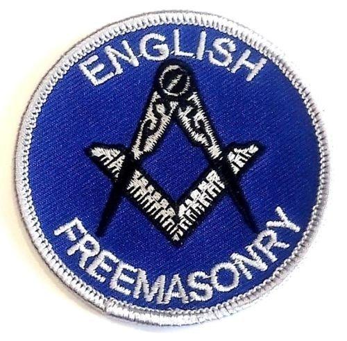 englische Freemasonry gestickte abzeichen (Abzeichen Gestickte)